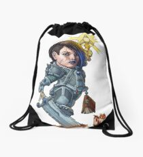 Fitzhywel's Fantastical Paraphernalia: Paladin! Drawstring Bag
