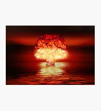 Atombombe Fotodruck