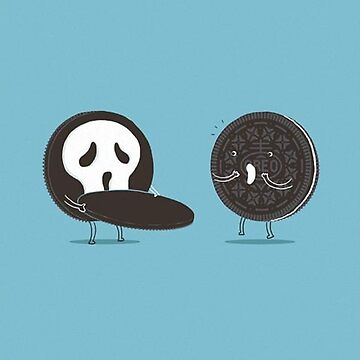 Oreo Ghostface by SnippyPie