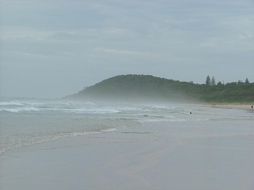 mist over quiet sands by jacspi