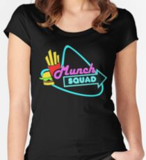 I Wanna Munch (squad) Women's Fitted Scoop T-Shirt