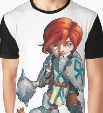 Fitzhywel's Fantastical Paraphernalia: Cleric! Graphic T-Shirt