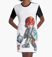 Fitzhywel's Fantastical Paraphernalia: Cleric! Graphic T-Shirt Dress