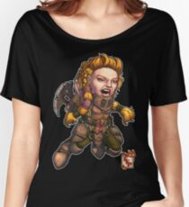 Fitzhywel's Fantastical Paraphernalia: Fighter! Women's Relaxed Fit T-Shirt