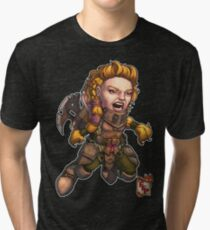 Fitzhywel's Fantastical Paraphernalia: Fighter! Tri-blend T-Shirt