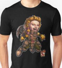 Fitzhywel's Fantastical Paraphernalia: Fighter! Unisex T-Shirt