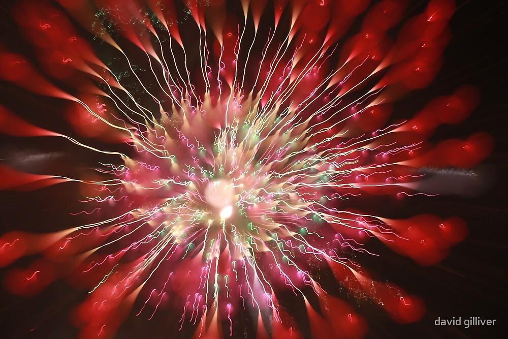 fireworks 31/12/17 by david gilliver