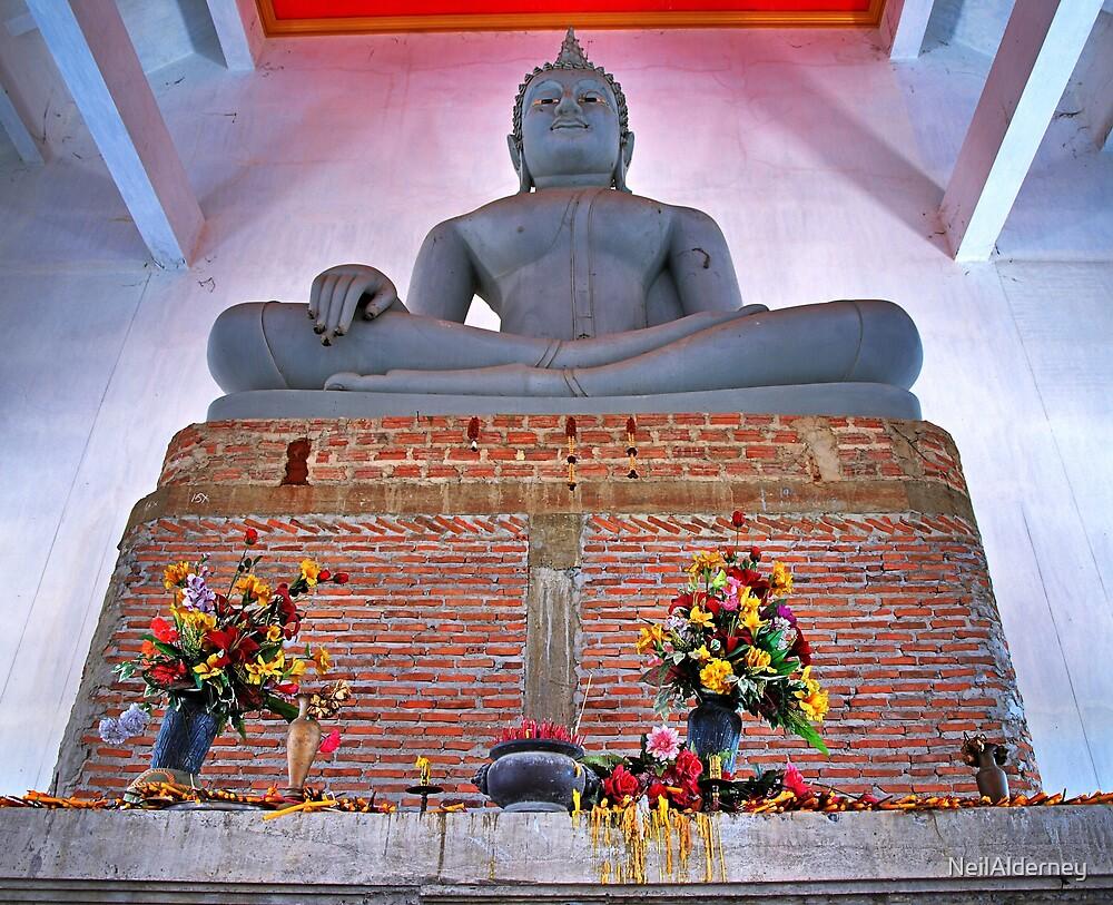 Unfinished Buddha  - Thailand by NeilAlderney