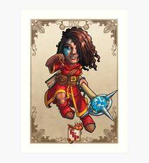 Fitzhywel's Fantastical Paraphernalia: Mage! Art Print