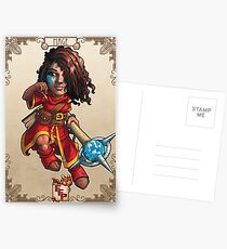 Fitzhywel's Fantastical Paraphernalia: Mage! Postcards