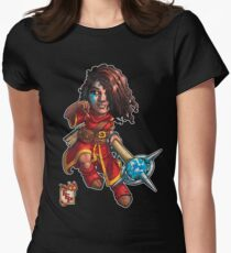 Fitzhywel's Fantastical Paraphernalia: Mage! Women's Fitted T-Shirt