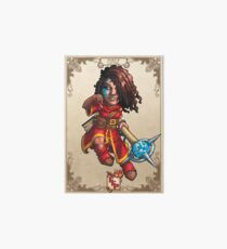 Fitzhywel's Fantastical Paraphernalia: Mage! Art Board