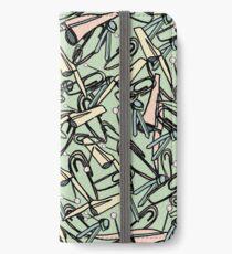 Stationary Scramble iPhone Wallet/Case/Skin