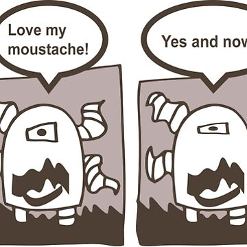 Tentacle Robot Story - Moustache by swissman