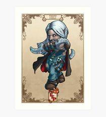 Fitzhywel's Fantastical Paraphernalia: Thief! Art Print