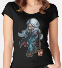 Fitzhywel's Fantastical Paraphernalia: Thief! Women's Fitted Scoop T-Shirt