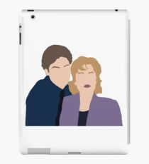 The X files Mulder Scully promo duo iPad Case/Skin