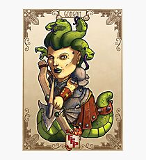 Fitzhywel's Fantastical Paraphernalia: Gorgon! Photographic Print