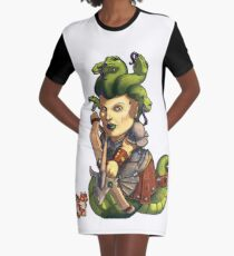 Fitzhywel's Fantastical Paraphernalia: Gorgon! Graphic T-Shirt Dress