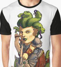 Fitzhywel's Fantastical Paraphernalia: Gorgon! Graphic T-Shirt