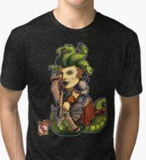 Fitzhywel's Fantastical Paraphernalia: Gorgon! Tri-blend T-Shirt