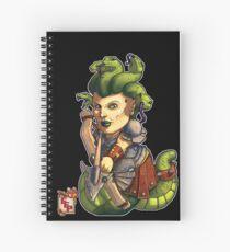 Fitzhywel's Fantastical Paraphernalia: Gorgon! Spiral Notebook