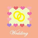 Wedding Card by CreativeEm