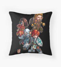 Fitzhywel's Fantastical Paraphernalia: The A Team! Throw Pillow