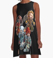 Fitzhywel's Fantastical Paraphernalia: The A Team! A-Line Dress
