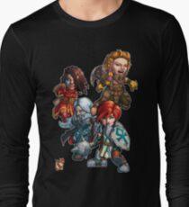 Fitzhywel's Fantastical Paraphernalia: The A Team! Long Sleeve T-Shirt