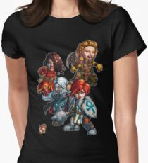 Fitzhywel's Fantastical Paraphernalia: The A Team! Women's Fitted T-Shirt