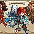 Fitzhywel's Fantastical Paraphernalia: The A Team! by Michael Fitzhywel