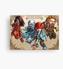 Fitzhywel's Fantastical Paraphernalia: The A Team! Canvas Print