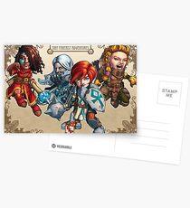 Fitzhywel's Fantastical Paraphernalia: The A Team! Postcards