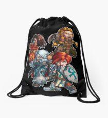 Fitzhywel's Fantastical Paraphernalia: The A Team! Drawstring Bag