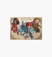 Fitzhywel's Fantastical Paraphernalia: The A Team! Art Board