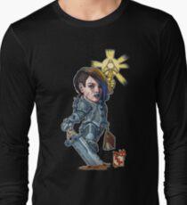 Fitzhywel's Fantastical Paraphernalia: Paladin! Long Sleeve T-Shirt