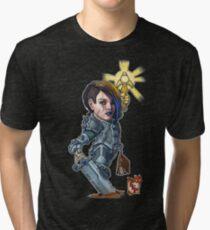 Fitzhywel's Fantastical Paraphernalia: Paladin! Tri-blend T-Shirt