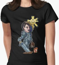 Fitzhywel's Fantastical Paraphernalia: Paladin! Women's Fitted T-Shirt