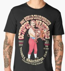 The Dollop - Octopus Wrestling Men's Premium T-Shirt