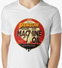 The Dollop - Penguin Oil Men's V-Neck T-Shirt