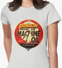 The Dollop - Penguin Oil Women's Fitted T-Shirt