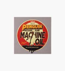 The Dollop - Penguin Oil Art Board