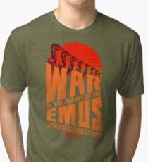 The Dollop - Emu War Tri-blend T-Shirt