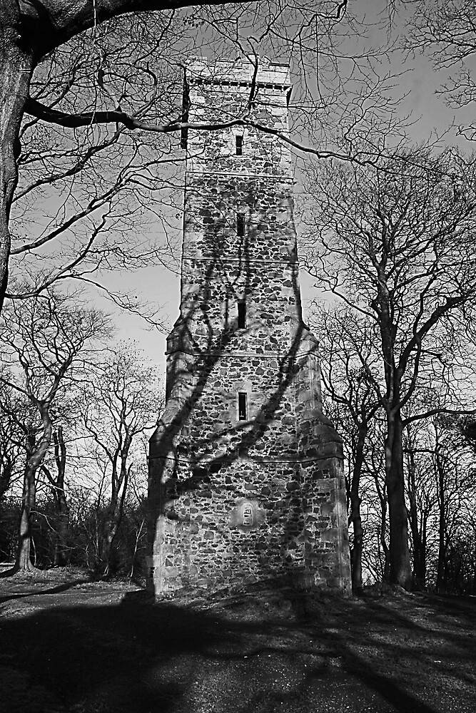 Corstorphine Hill Tower by milton