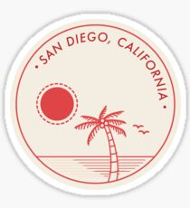 San Diego, California Sticker