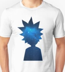 Rick and Morty Universe Silhouette Unisex T-Shirt