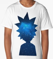 Rick and Morty Universe Silhouette Long T-Shirt