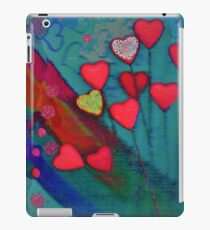 Hearts in the wind iPad Case/Skin