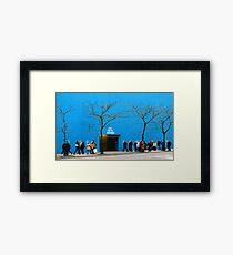 #635  575 Fifth Ave. Framed Print